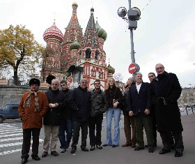 What a nice visit to Moscou!
